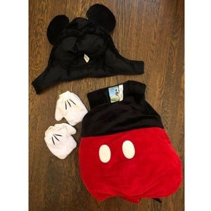 Disney Store Plush Baby Mickey Mouse Costume
